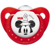 【德国品质】NUK迪士尼米奇硅胶安抚奶嘴王(1号0-6个月)颜色随机