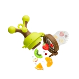 小白熊 咬咬训练器 婴儿水果蔬菜乐 09091