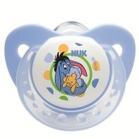 【德国品质】NUK迪士尼安睡型硅胶安抚奶嘴(6-18个月)颜色随机
