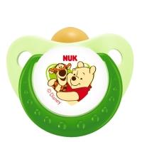 【德国品质】NUK迪士尼安睡型乳胶安抚奶嘴(0-6个月)颜色随机