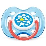 飞利浦新安怡 英国进口 AVENT 时尚安抚奶嘴0-6个月男宝SCF172/12