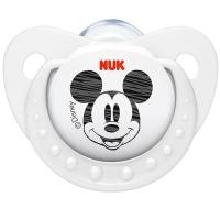 【德国品质】NUK迪士尼米奇硅胶安抚奶嘴王(2号6-18个月)颜色随机
