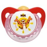 【德国品质】NUK迪士尼安睡型乳胶安抚奶嘴(6-18个月)颜色随机