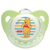 【德国品质】NUK迪士尼安睡型硅胶安抚奶嘴(0-6个月)颜色随机