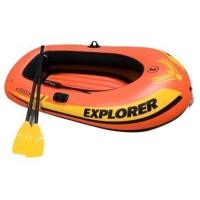 INTEX 58331探险者两人充气船 钓鱼船 橡皮艇送船浆和打气泵