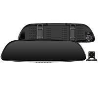 征服者(CONOUEROR)SV-19 双镜头行车记录仪带电子狗 星光夜视高清录影倒车可视流动雷达测速一体机