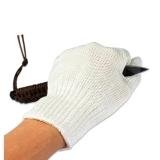 先锋连安全防割手套 舒适不刺手 钢丝防护手套 战术手套 保安器材保安用品防割手套白色