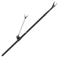 隐士 1.7米铝合金圆管金属钓箱专用支架竿架鱼竿架渔具鱼具垂钓装备