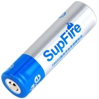 神火(supfire)18650 神火强光手电筒专用充电锂电池尖头 3.7V-4.2V 配电池收纳盒 1节装