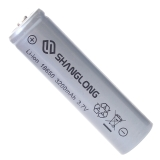 尚龙强光手电电池 18650可充电锂电池 3.7V大容量强光手电筒专用充电电池 带收纳盒P01