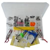 隐士 钓鱼配件组合套装鱼钩太空豆剪刀垂钓用品