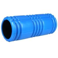 普为特POVIT 健身瑜伽柱 空心泡沫轴99uu优优官网轴肌肉放松滚轴平衡棒 蓝色 P-9335