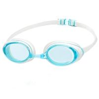 速比涛speedo 原装进口泳镜 高清防雾防水大框游泳镜 男士女士游泳眼镜 湖水蓝 均码 8036130310
