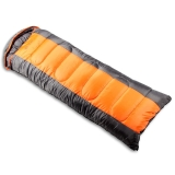 红色营地 睡袋 户外秋冬季加厚睡袋成人午休睡袋  1.4kg 橙色