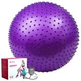 杰樸森(GEPSON)按摩球 75cm 加厚防爆瑜伽按摩球瑜伽球健身球 紫色