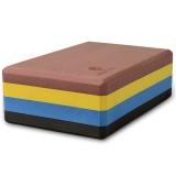 哈他瑜伽 原创彩色高密度瑜伽砖 彩色