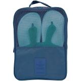 加加林  旅行鞋子收纳袋整理包鞋袋 收纳包大容量旅游便携鞋包 洗漱包  藏青色