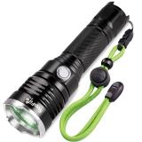 神火(supfire)X11 LED强光手电筒远射款户外家用可充电式防身救生锤迷你 配18650电池