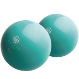 弥雅(MIYA UGO)哑铃 2磅一对装软哑铃健身瑜伽球 水蓝