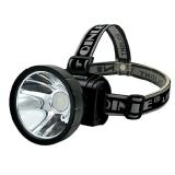 博沃尼克 充电式LED强光 头灯夜钓远射充电钓鱼灯 矿灯头戴手电筒 进口欧司朗芯片 白光款 BZ-4