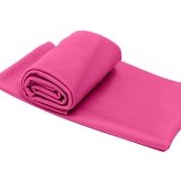 户外冷感运动毛巾健身吸汗跑步降温魔幻冰凉巾 粉色