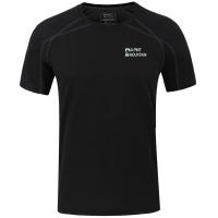 埃尔蒙特ALPINT MOUNTAIN 户外T恤快干速干透气圆领短袖速干衣T恤体能训练服 640-511 黑色 XXXL