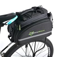 ROCKBROS自行車包騎行尾包后貨架包山地車馱包挎提相機包駝包配件 黑色