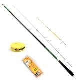 太宇 钓鱼竿套装组合台钓竿 3.6米碳素轻硬渔具套装 垂钓手竿 雪龙鲤 TY9002-T
