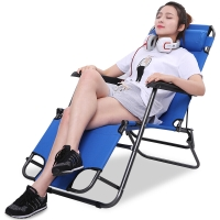 创悦 躺椅 折叠椅午休床午睡床陪护床 两用休闲折叠CY-5860