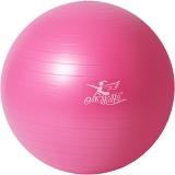 金啦啦瑜伽球加厚防爆健身球 粉色