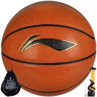 李宁LI-NING LBQG044-P 室内外兼用PU蓝球 CBA比赛 篮球