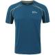 埃尔蒙特ALPINT MOUNTAIN 户外T恤快干速干透气圆领短袖速干衣T恤体能训练服 640-511 孔雀蓝 XL