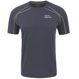 埃尔蒙特ALPINT MOUNTAIN 户外T恤快干速干透气圆领短袖速干衣T恤体能训练服 640-511 深灰 XL