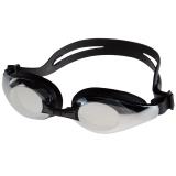 奇海镀膜泳镜男女通用平光电镀游泳眼镜 1207黑色送泳帽