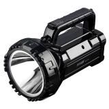 久量(DP) LED强光手电筒 远射手电探照灯充电式 家用防水手提灯大功率巡逻探照灯 7045
