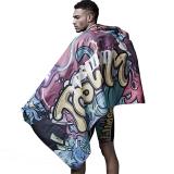 拓勝(TOSWIM)游泳毛巾吸水速干巾溫泉沙灘運動旅游必備速干浴巾海洋涂鴉