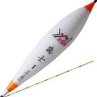 [京东下架品种]隐士 YS1802纳米枣弧型1号浮漂混养漂库钓鱼漂立漂渔具垂钓