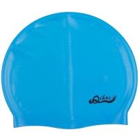 奇海泳帽男女通用内颗粒帽湖蓝色
