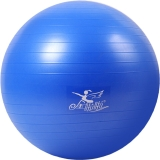 金啦啦瑜伽球加厚防爆健身球 深蓝