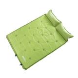 牧高笛户外装备 露营野营可拼接双人防潮垫自动充气垫  嫩绿