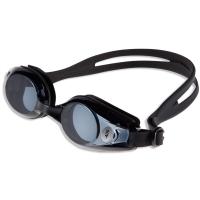 奇海 QH1518近视泳镜男女通用带度数游泳镜黑色400度