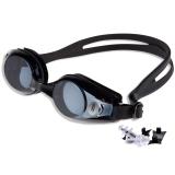 奇海 QH1518近视泳镜男女通用带度数游泳镜黑色200度