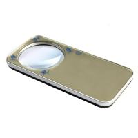MIXOUT米欧特 高清高倍阅读鉴赏便携式轻薄放大镜 5倍LED灯时尚放大镜配皮套MX-218