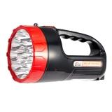 佳格 强光手电筒防水远射LED充电式探照灯防身骑行户外灯 YD新888