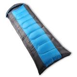 红色营地 睡袋 户外秋冬季加厚睡袋成人午休睡袋  1.8kg 蓝色