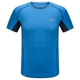埃尔蒙特ALPINT MOUNTAIN 春夏男款快干T恤 户外短袖吸湿排汗T恤 630-524 蓝色 M