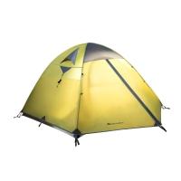 牧高笛户外装备 防暴雨铝杆三季帐三人双层帐野外野营帐篷冷山3 MZ093006 绿色