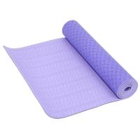 凯速TPE高级 183*61cm加长防滑防潮健身瑜伽垫 6MM 紫色 EA05