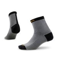 赛乐(Zealwood)Z-fresh银离子系列吸湿排汗保暖快干抗菌防脚臭日常生活休闲袜子一双装深灰色S码