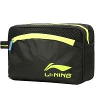 李宁 LI-NING干湿分离游泳包 男 女 收纳泳包防水包 750黑